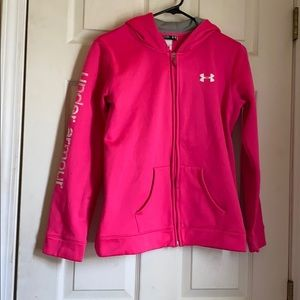 Under Armour  Youth Extra Large Hot Pink jacket